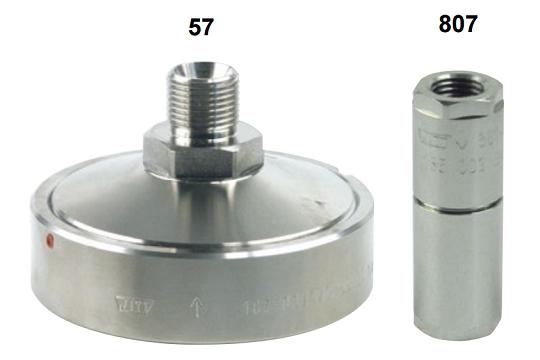 Hy-Lok Feinfilter Serie 57 und 807