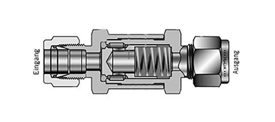 Aufbau der Hy-Lok Serie 700